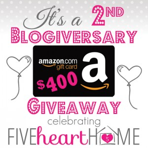 Five-Heart-Home-2nd-Blogiversary-Amazon-Gift-Card-Giveaway_SquareGraphic700pxSRGB