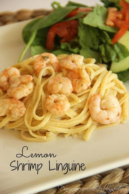Lemon Shrimp Linguine