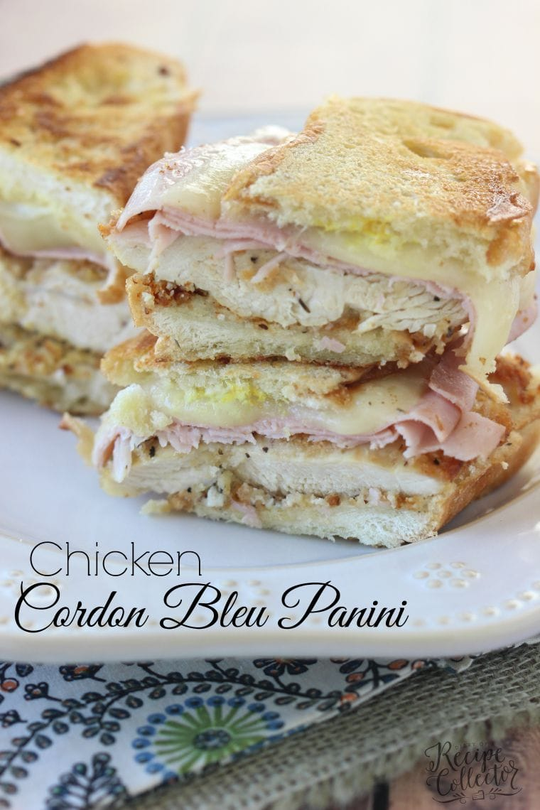 Chicken cordon bleu panini diary of a recipe collector forumfinder Gallery