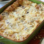 Sausage, Egg, & Cheese Croissant Bake - Diary of a Recipe Collector