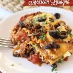 Mexican Lasagna - Diary of a Recipe Collector