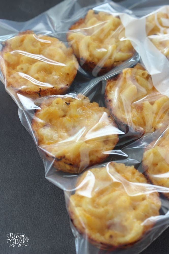 Ham & Cheese Macaroni Muffin Cups - Perfect for school lunches and freezer-friendly too!