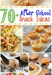 70+ After School Snack Ideas
