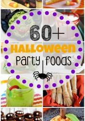 60+ Halloween Party Foods