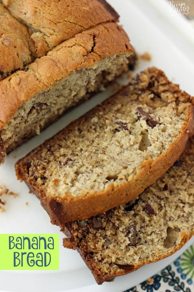 Banana Bread - A classic butter-based banana bread recipe perfect for using those ripe bananas.