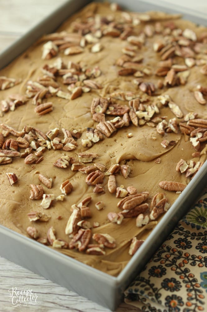Easy Pecan Praline Cake Recipe