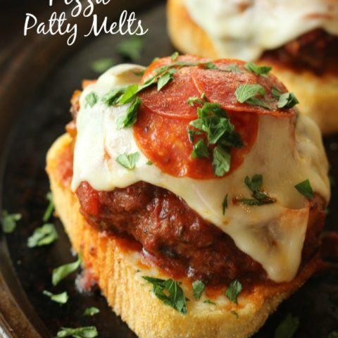 Pizza Patty Melts