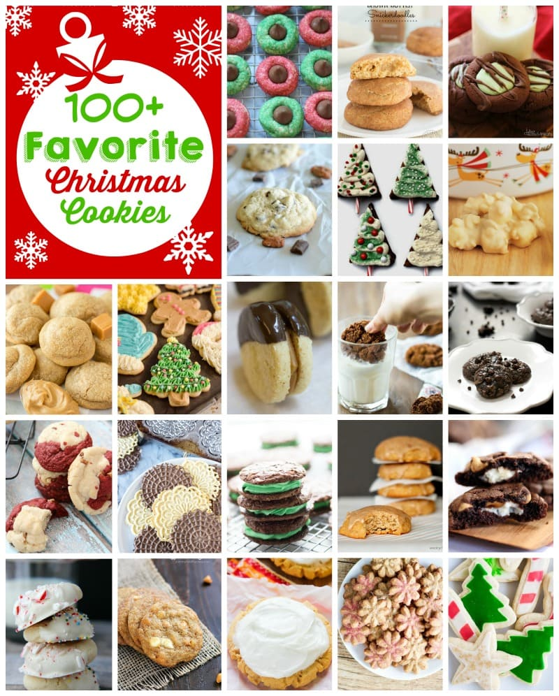 100+ Favorite Christmas Cookies - This is the ultimate list of perfect Christmas cookies from some of your favorite bloggers!