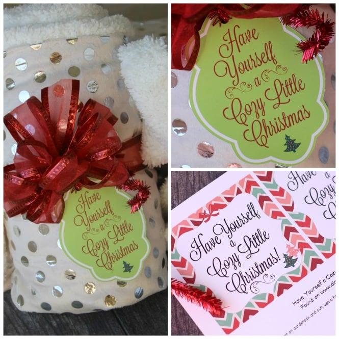 Cozy Little Christmas Tag Amp Gift Idea Diary Of A Recipe