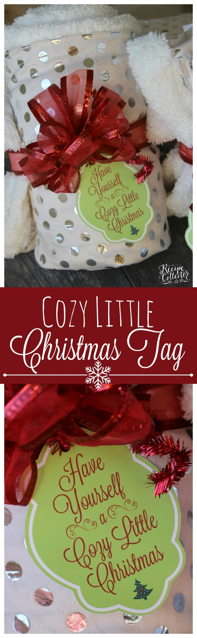 Little Christmas Gift Ideas.Cozy Little Christmas Tag Gift Idea Diary Of A Recipe