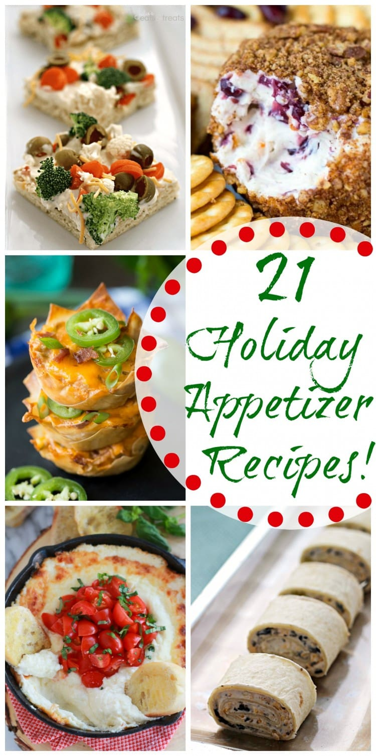 21 Holiday Appetizer Recipes