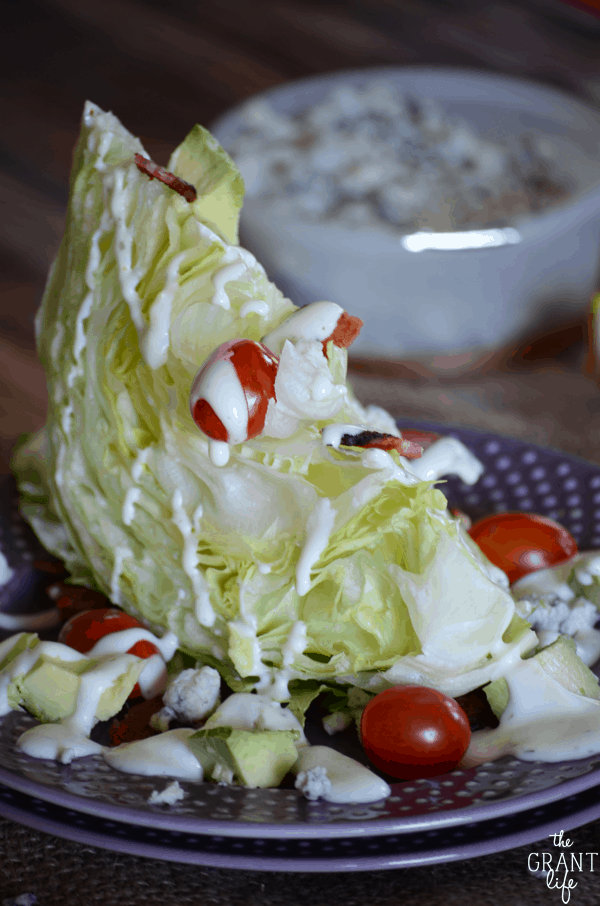 10 Holiday Appetizers for New Year's Eve - Avocado Wedge Salad
