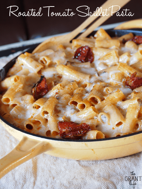 Roasted Tomato Skillet Pasta