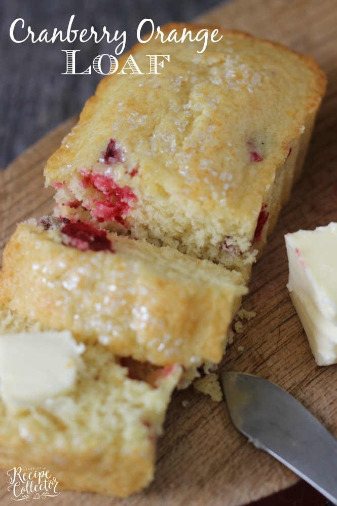Cranberry Orange Loaf - A wonderfully easy and delicious recipe filled ...