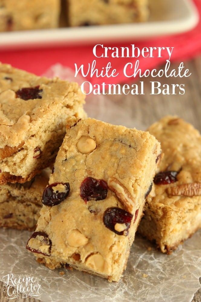 Chocolate Oatmeal Bar Recipe