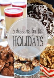Five Perfect Desserts for the Holidays