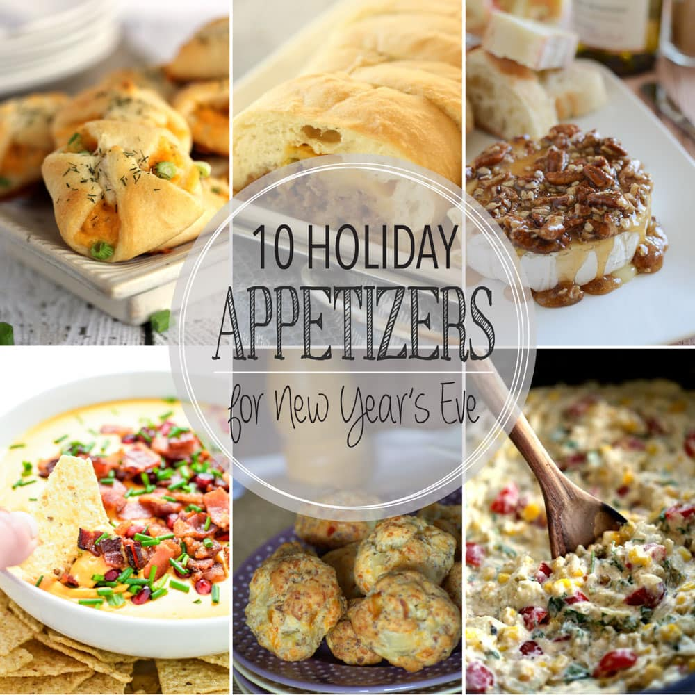 10 Holiday Appetizers for New Year's Eve