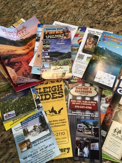 Friday Favorites: Colorado brochures