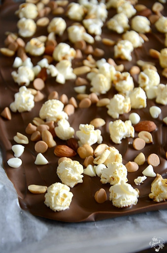 Weekly Family Meal Plan - Sweet and Salty Popcorn Bark