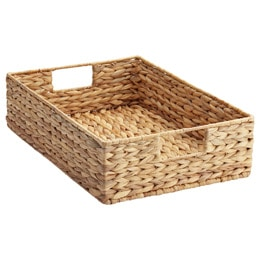 Friday Favorites: Water-Hyacinth-Tray-The Container Store