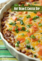 Hot Bean & Cheese Dip