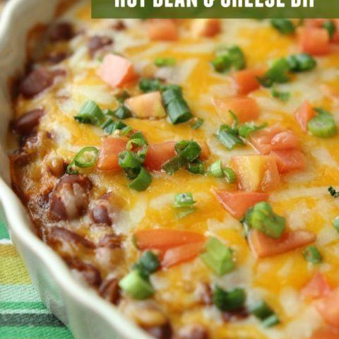 Hot Bean & Cheese Dip