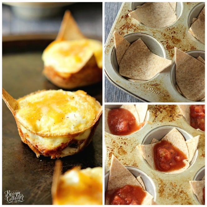 Taco Egg Muffin Cups - A great grab and go breakfast idea that is high in protein and low in carbs.