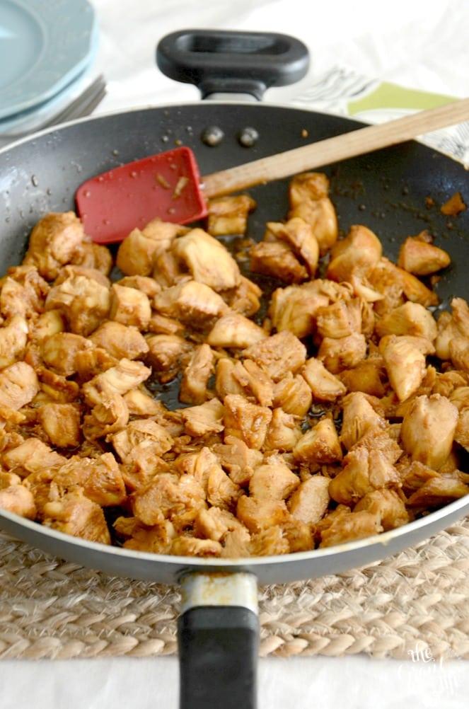 Weekly Family Meal Plan - One Pan Chicken Teriyaki