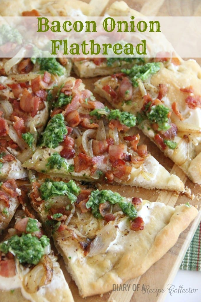 Bacon and Onion Flatbread