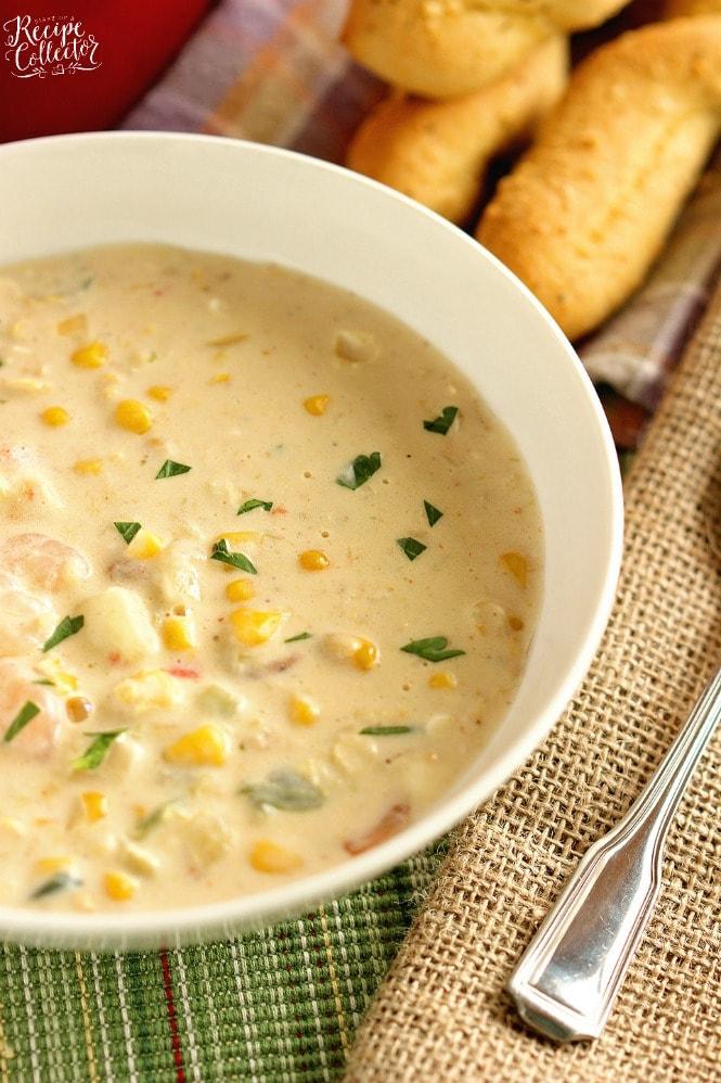 recipe: corn and shrimp soup recipe easy [2]