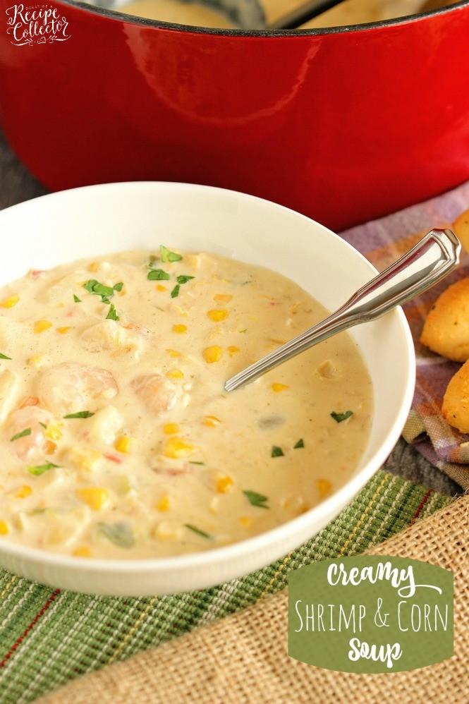 Creamy Shrimp & Corn Soup