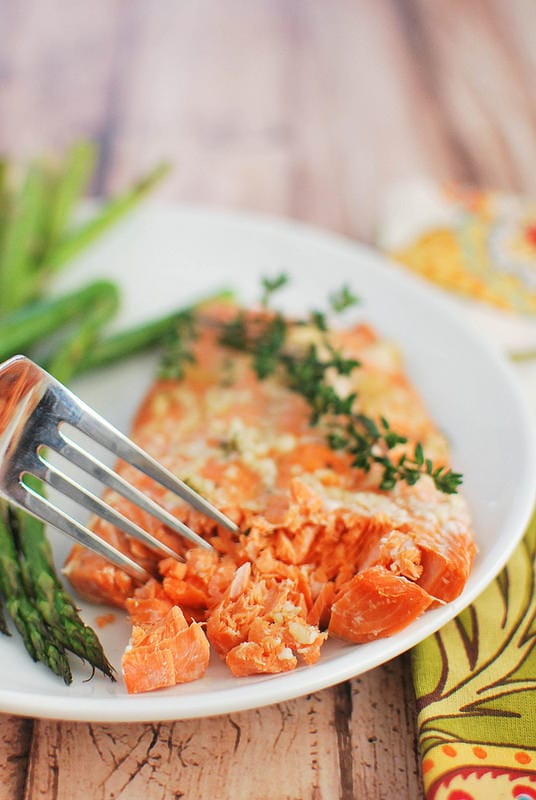 Weekly Family Meal Plan - Easy Honey Salmon