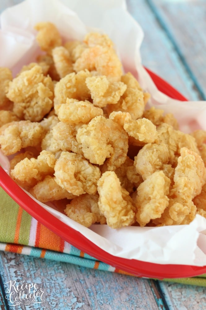 Easy Popcorn Fried Shrimp Diary Of A Recipe Collector