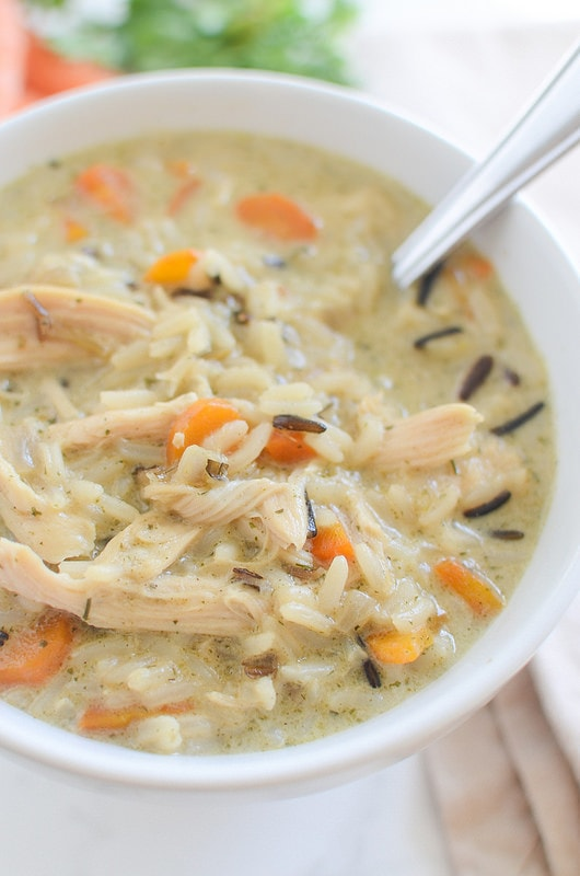 Food Network Chicken And Wild Rice Soup
