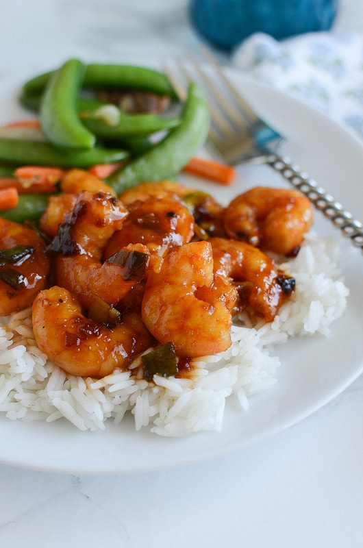 Weekly Family Meal Plan - Spicy Orange Shrimp