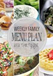 Weekly Family Meal Plan #35