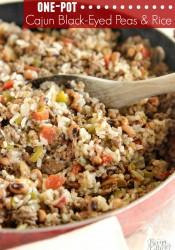 One-Pot Cajun Black-Eyed Peas & Rice