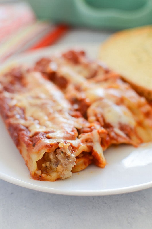 Stuffed Manicotti Recipes Food Network