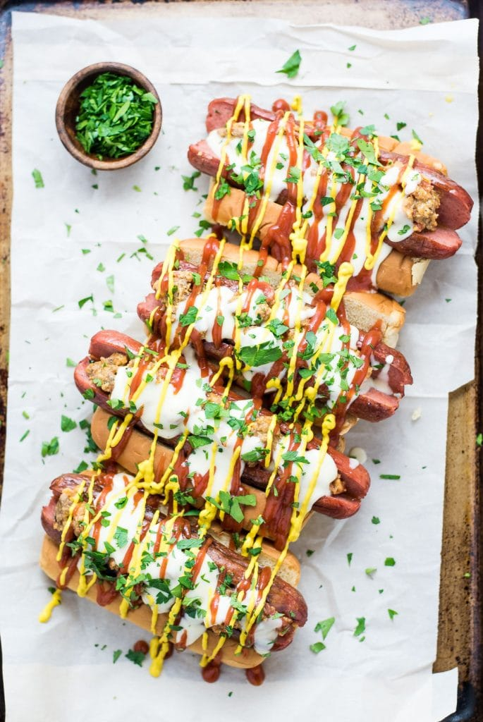 Weekly Family Meal Plan - Bacon Cheeseburger Hot Dogs