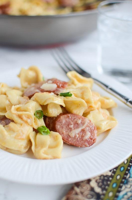 Weekly Family Meal Plan - Cajun Tortellini Alfredo