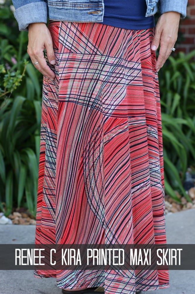 Stitch Fix Styles - Renee C Kira Printed Maxi Skirt