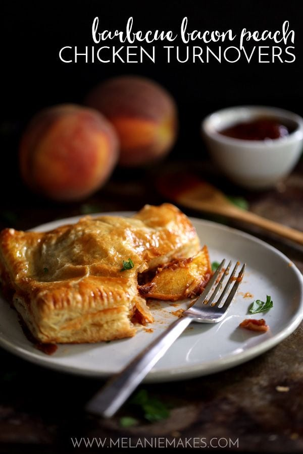 Weekly Family Meal Plan - Barbecue Peach Chicken Turnovers