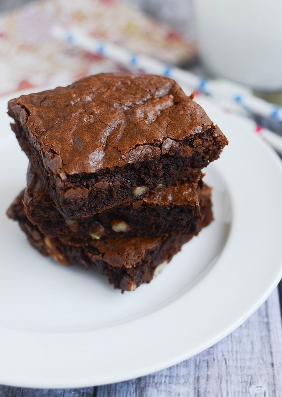 Weekly Family Meal Plan - Classic Brownies