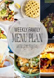Weekly Family Meal Plan #46