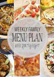 Weekly Family Meal Plan #48