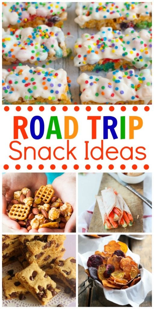 20 Road Trip Snack Ideas Diary Of A Recipe Collector