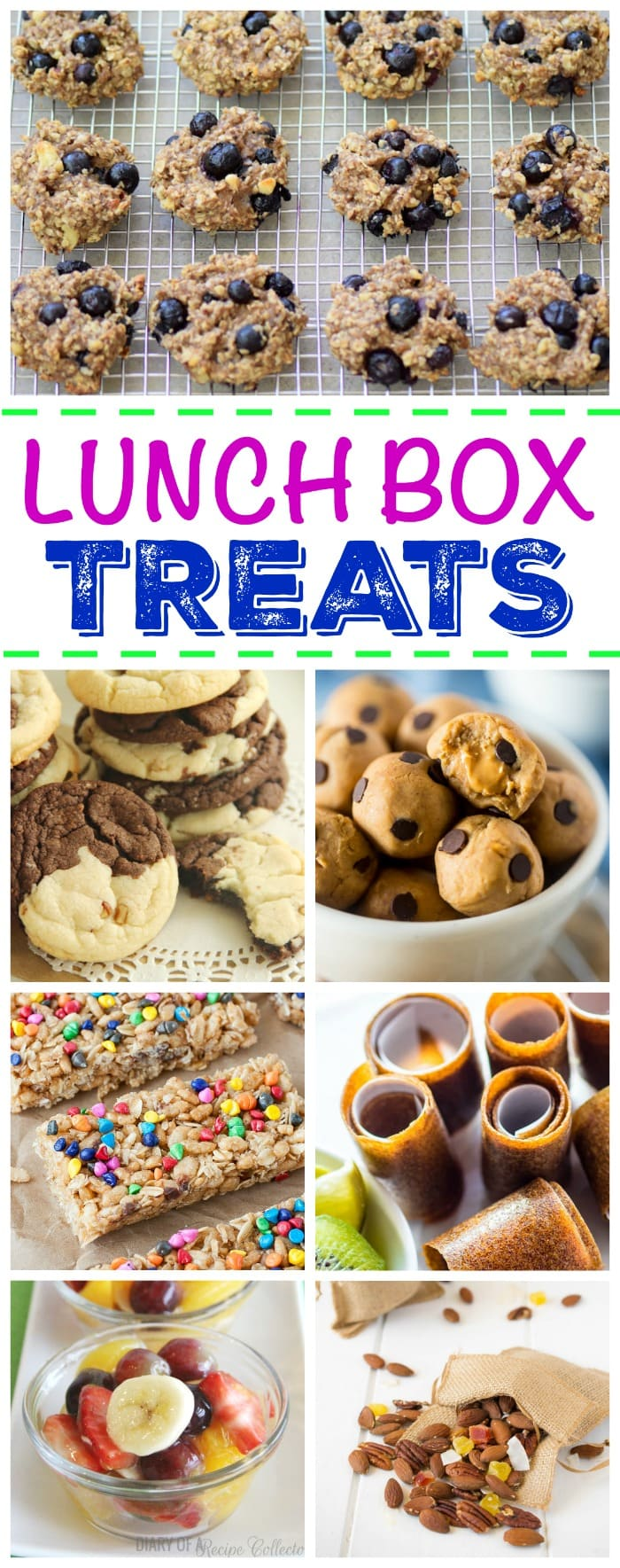 Lunch Box Treats - Looking for school lunch ideas? Check out this great collection of homemade lunch box treats!