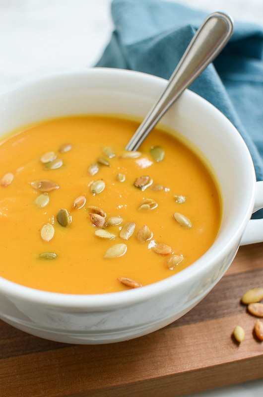 Weekly Family Meal Plan - Autumn Squash Soup Panera Copy Cat