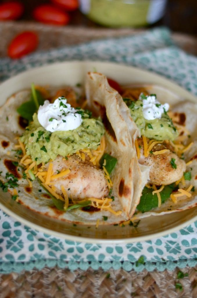 Weekly Meal Plan - Baked Chicken Tacos