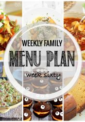 Weekly Family Meal Plan #60